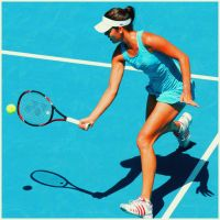 Ana Ivanovic_AO3 by leftysrock