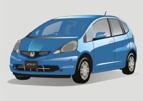 Honda Fit Vector by cesterical
