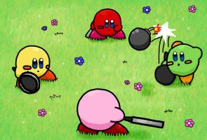 Kirby Bomb Rally by Memiz