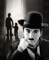 Charlie Chaplin by Himitsuboy