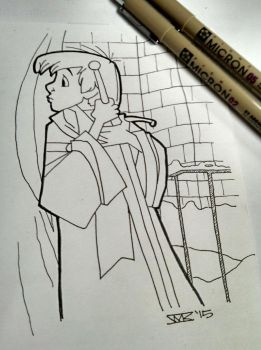 Arthur - Sword in the Stone by kirto
