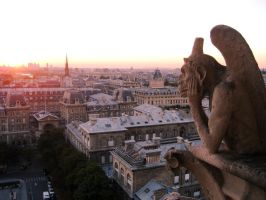 Notre Dame - Le Penseur by TheFightingGoddess