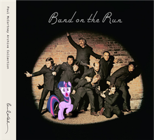 Twilight and the Band on the Run by Bronyman1995