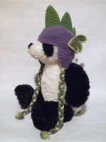 Spike Earflap Hat by PuzzledShorty