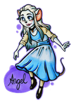 TGMD OC Series - Angel by Yaraffinity