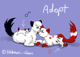 Draw to adopt newborn Kitties! - CLOSED by Nahemii-chan