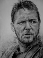 russell crowe portrait by SametAdlane