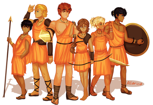 Camp Half Blood: First Class by allarica