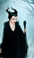 Maleficent by AviHistten