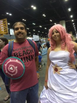 Me and Rose Quartz. by PRS3245