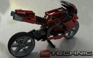 LEGO TECHNIC Street Bike 8420 III by Dracu-Teufel666