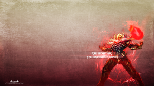 LoL - Blood Lord Vladimir Wallpaper by xRazerxD