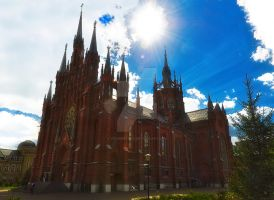 Saint Maryr's Church, Moscow, Russia by VadimPetrov
