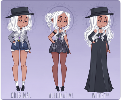 Witchsona Outfit Reference by TootsieTut