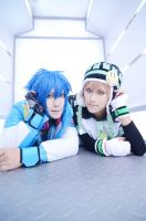 Cosplay:DRAMAticalMurder Noise x Aoba by bittys