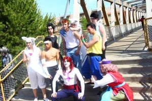ColossalCon 2014 - YYH(PS) 16 by VideoGameStupid