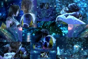 Tidus and Yuna by Keyblade-Masteress