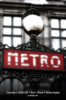 Paris Metro by yc