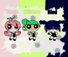 my official PPG Oc team by YouAskMeFirst2