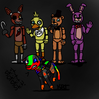 Five Nights At Freddy's by KenazRavenTooth