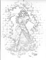 She Hulk by Goldmanpenciler