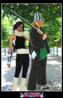 .:Urahara and Yoruichi:. by chioky