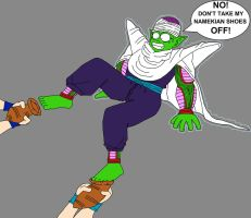 Piccolo Jr. paralyzed by DragonBallFan2012