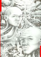 self portrait -full view by white2tattoo4