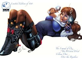 Legend of Oz Volume One Limited Edition Cover by JenBroomall