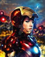 irongirl by andreypratama