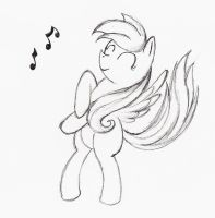 Dancing Derpy Hooves by otto720