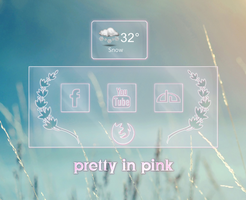 pretty in pink launcher by Fruitsnacks2011