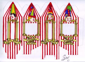 Bertie Bott's Beans coloured by GwendolynWolters