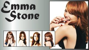 Emma Stone Wallpaper by ResolutionDesigns