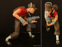 Sculpture - The Scout by luk01