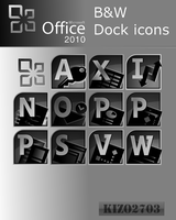 Office 2010 icons by kizo2703