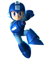 Mega Man 3 Render by kamtheman56