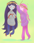 Sweaters and Flower Crowns by Ryuusei924