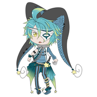 Chibi Joker Cael by NotLucy