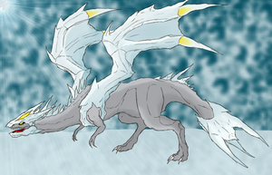The Ice Dragon by Forever-Forgotten22
