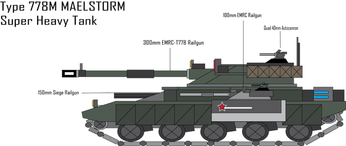 IRS Type 778M Maelstorm Super Heavy Tank by Target21