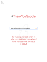 Thank You Google #01 by Ebong-Doodlers