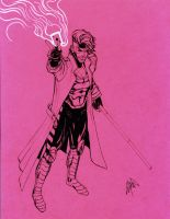 Gambit in pink by peetietang