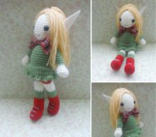 Elf Crocheted Doll by missdolkapots