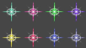 FFX Heart Crystals by artemismoonguardian