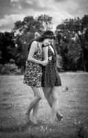 Girls Together by EngagingPortraits