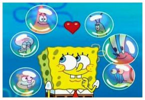 Spongebob and his love. by COCOAJB