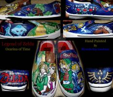 Legend of Zelda Shoes by mandykat