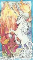 The Last Unicorn Red Bull by jupiterjenny