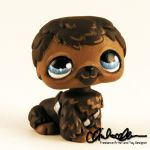 The Littlest Chewie custom LPS by thatg33kgirl